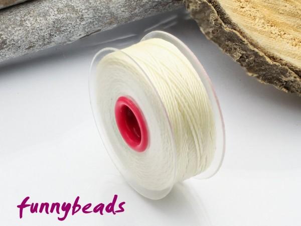 Perlseide 0,2 mm 37 m beige