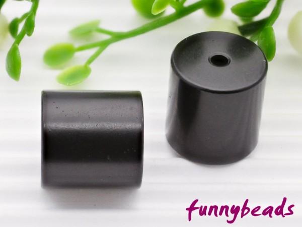 Aluminiumwalze 10 x 10 mm schwarz