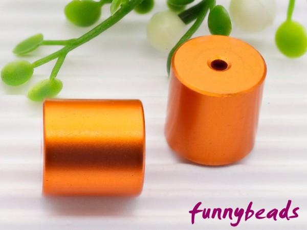 Aluminiumwalze 10 x 10 mm orange