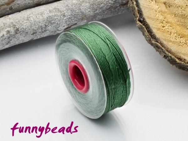 Perlseide 0,2 mm 37 m grün