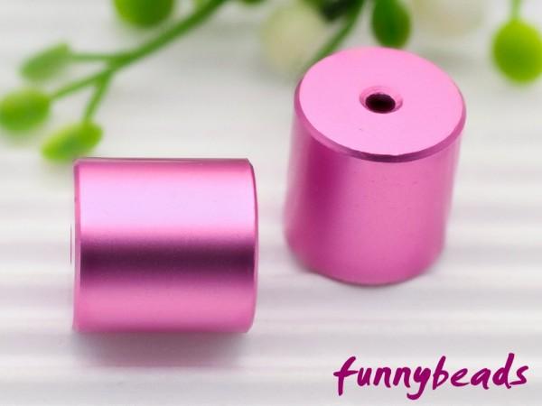 Aluminiumwalze 10 x 10 mm rosa