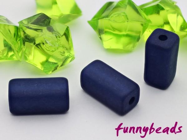 Polarisperle Quader 6 x 6 x 12 mm dunkelblau