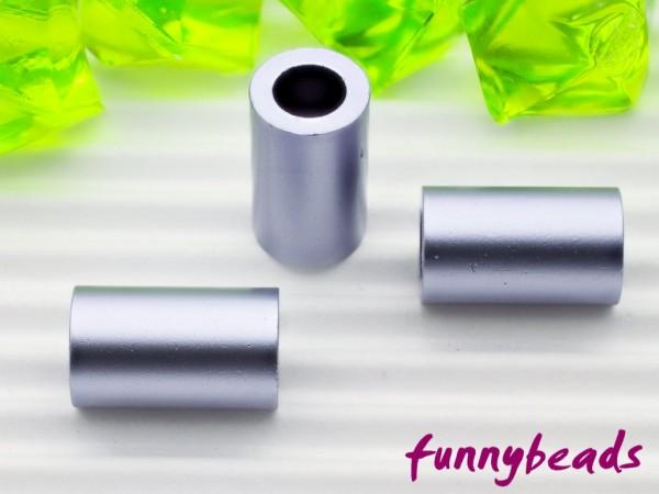 Aluminiumröhrchen 6 x 10 mm light violet