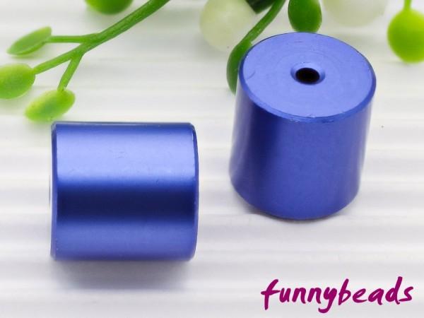 Aluminiumwalze 10 x 10 mm dunkelblau