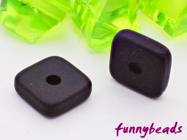 Polaris Spacer Quadrat Scheibe eckig 6 mm schwarz