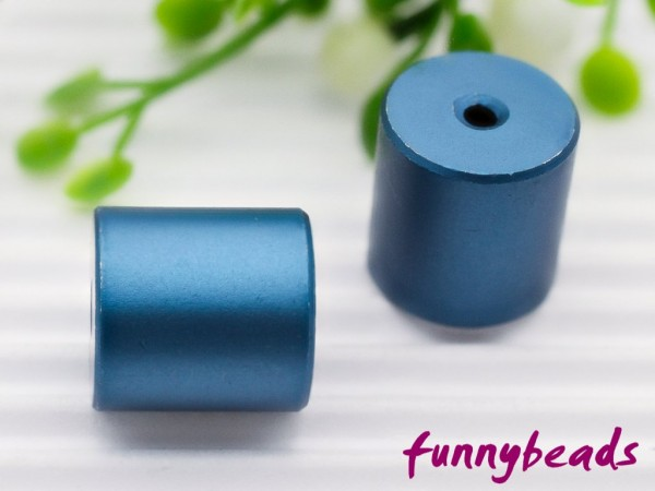 Aluminiumwalze 10 x 10 mm nachtblau