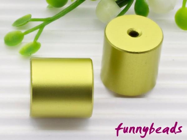 Aluminiumwalze 10 x 10 mm citrusgrün