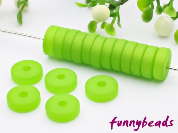 Polaris Spacer Rondell 10 mm grün