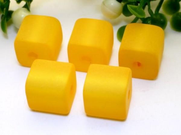 Polaris Würfel 8 x 8 mm gelb
