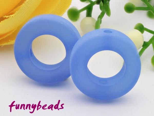 Polaris Ring 16 mm capri blau