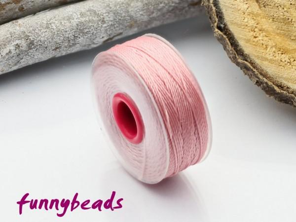 Perlseide 0,2 mm 37 m rosa