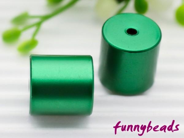 Aluminiumwalze 10 x 10 mm grün
