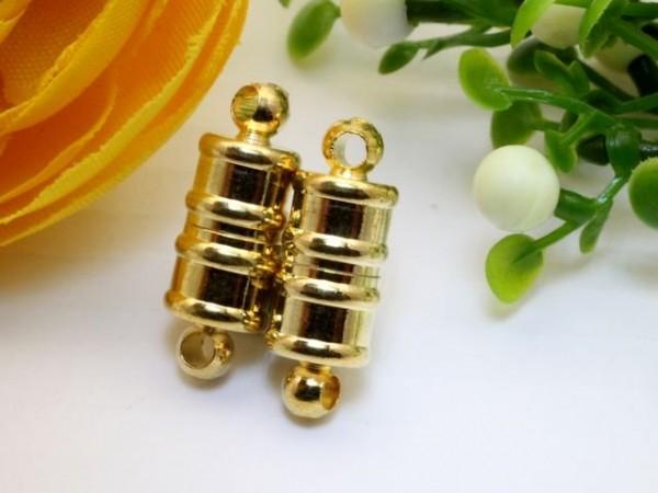Magnetverschluss goldfarben 16 x 6 mm
