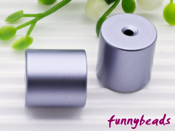 Aluminiumwalze 10 x 10 mm light violett