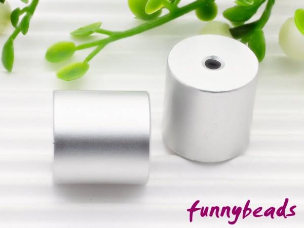 Aluminiumwalze 10 x 10 mm silbergrau
