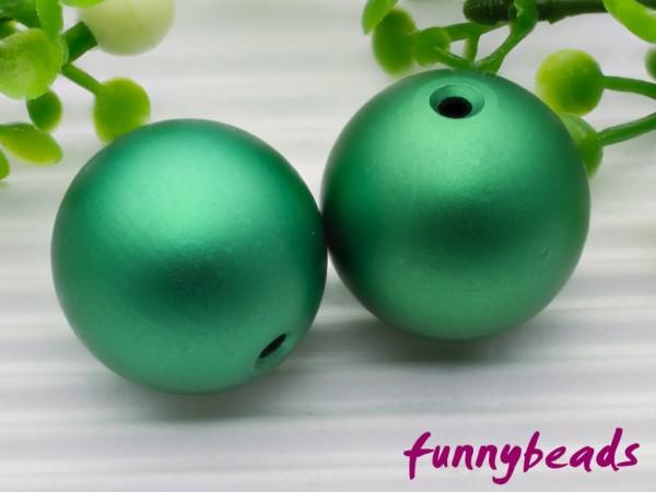 Aluminiumkugel 14 mm grün