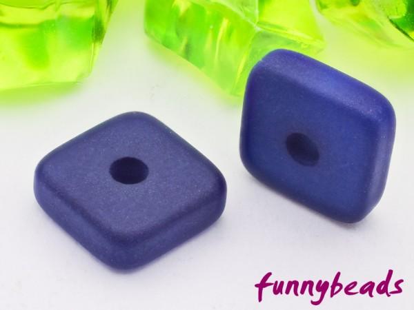 Polaris Spacer Quadrat Scheibe eckig 6 mm dunkelblau