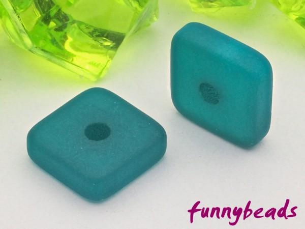Polaris Spacer Quadrat 8 mm emerald