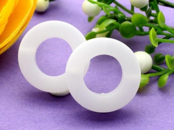 Polaris Ring 16 mm weiß