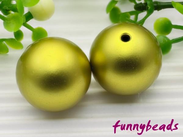 Aluminiumkugel 10 mm citrusgrün