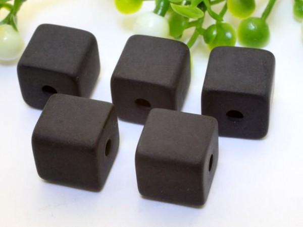 Polaris Würfel 8 x 8 mm schwarz