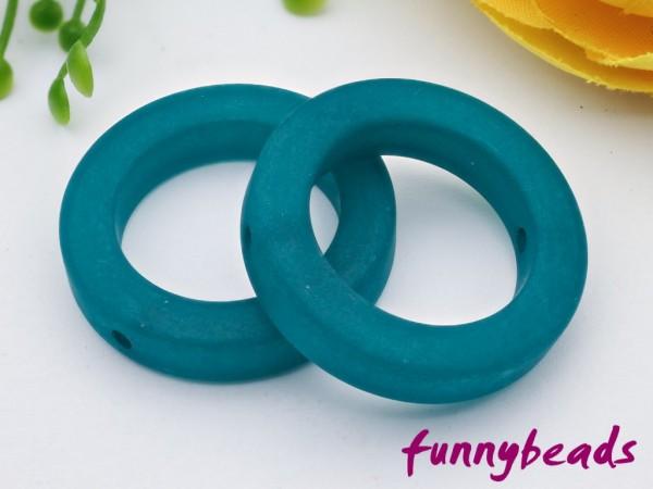 Polaris Ring 25 mm emerald