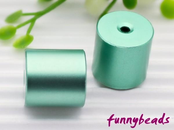 Aluminiumwalze 10 x 10 mm hellgrün