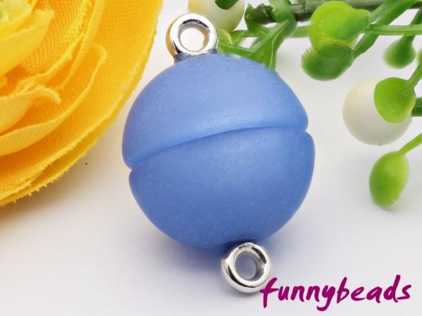 Polaris Magnetverschluss capri blau 12 mm