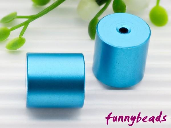 Aluminiumwalze 10 x 10 mm caribik blau