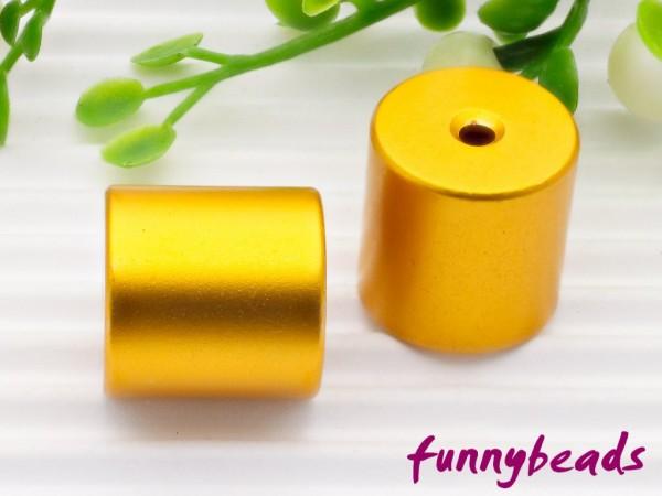Aluminiumwalze 10 x 10 mm gold