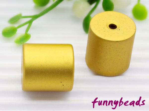 Aluminiumwalze 10 x 10 mm gelb