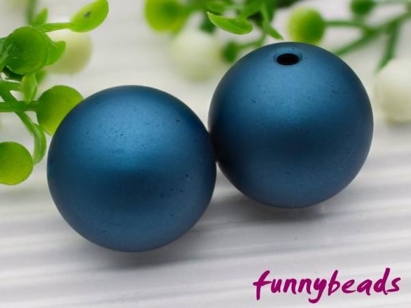 Aluminiumkugel 10 mm nachtblau