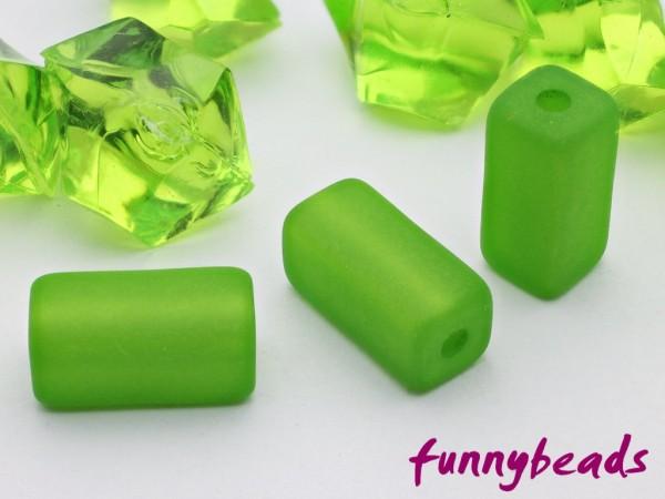 Polarisperle Quader 6 x 6 x 12 mm grün